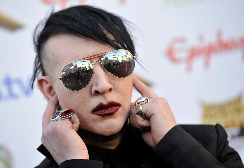 """One of rock 'n' roll's most shocking – not to mention cautionary– tales come from Marilyn Manson, who claimed in a1995 interview with High Times that he ground up human bones and smoked them.""""It was terrible,"""" he said. """"It smelled like burnt hair, gave you a really bad headache and made your eyes red."""""""