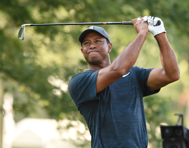 Massive crowds see tale of two Tigers in first round of PGA Championship