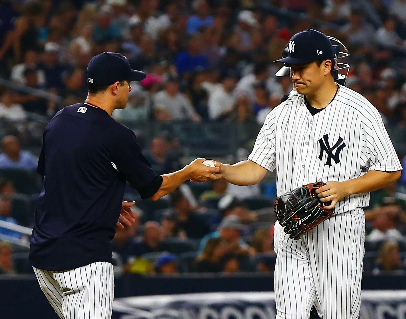 New York Yankees Texas Rangers Announce Lineups For