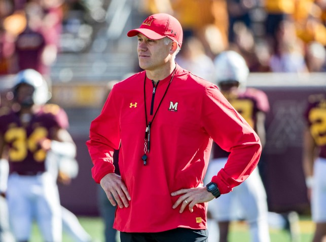 Maryland coach DJ Durkin placed on leave as school investigates football team's culture