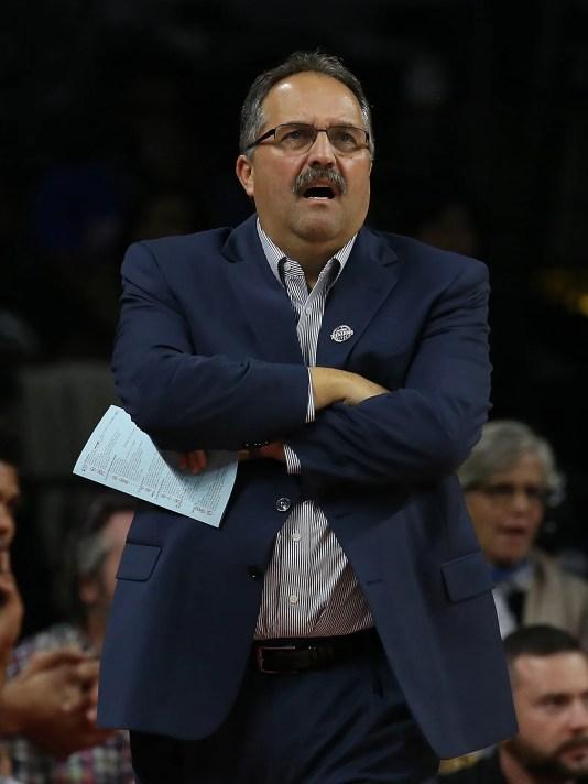 Usp Nba Denver Nuggets at Detroit Pistons S Bkn Usa Mi