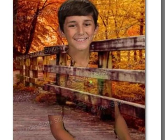 Seventh Grader Carter Hutsell  Wore A Green Shirt To Picture Day Which