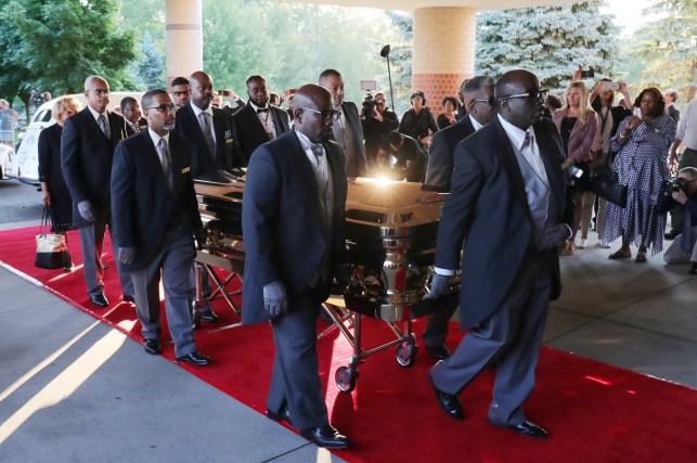 Aretha Franklin funeral: Speakers, musicians, nation celebrate the Queen of Soul