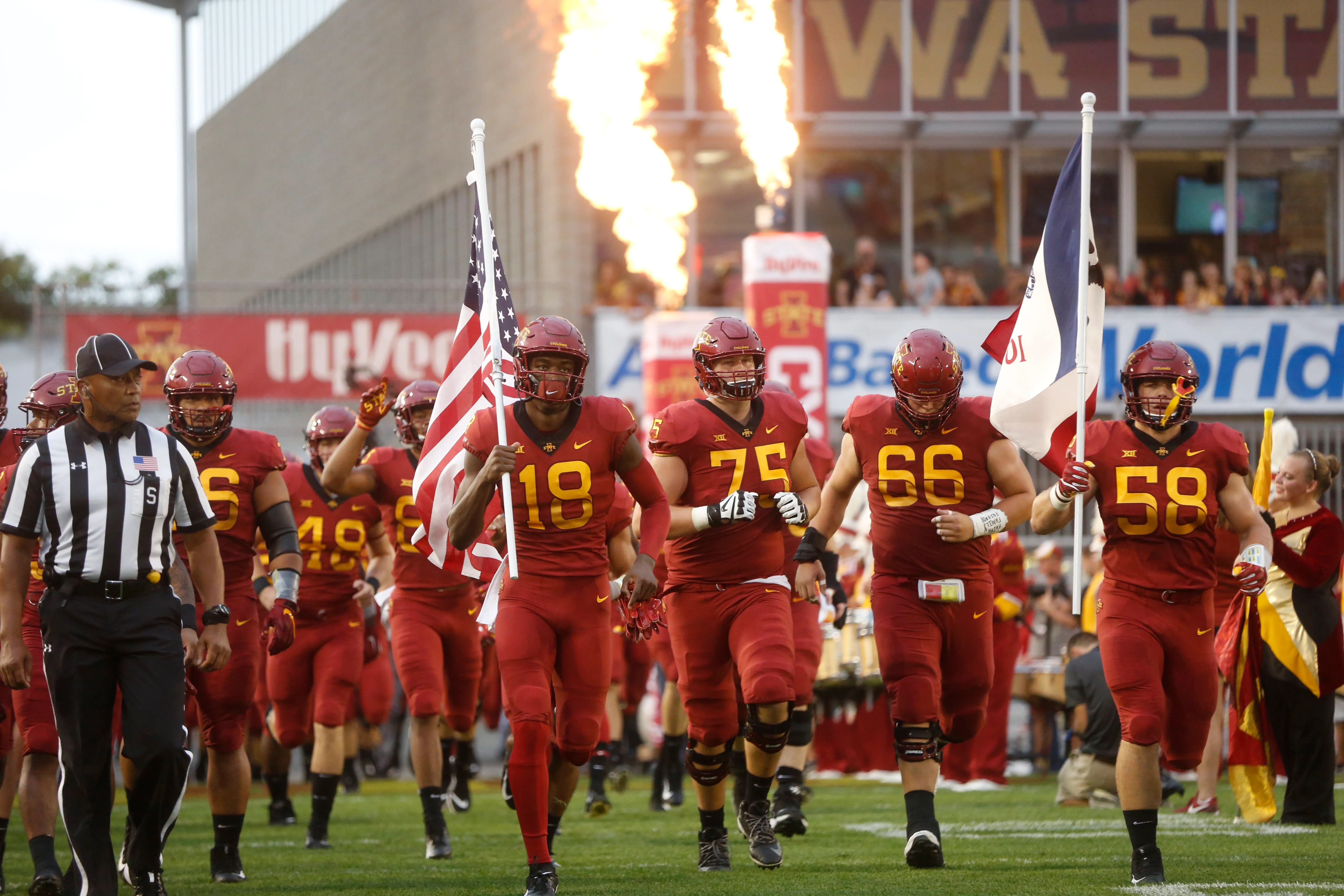 Stats file details on projected cy hawk football starters for iowa state and also ncaa depth chart at rh desmoinesregister