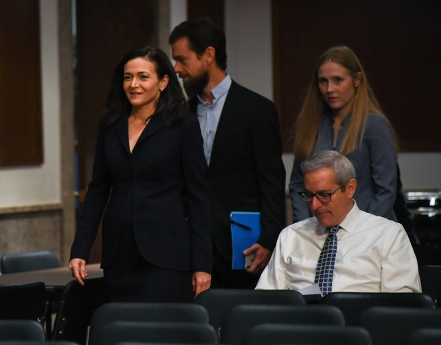 Social media hearings: Sheryl Sandberg says Facebook was too slow to respond to Russia election interference