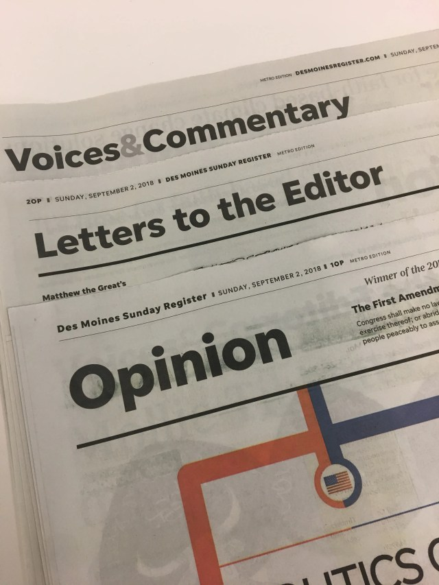 Op-Ed? Editorial? What do all these terms really mean?