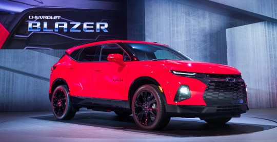 The 2019 Chevrolet Blazer is introduced on Thursday, June 21, 2018 in Atlanta, Georgia.