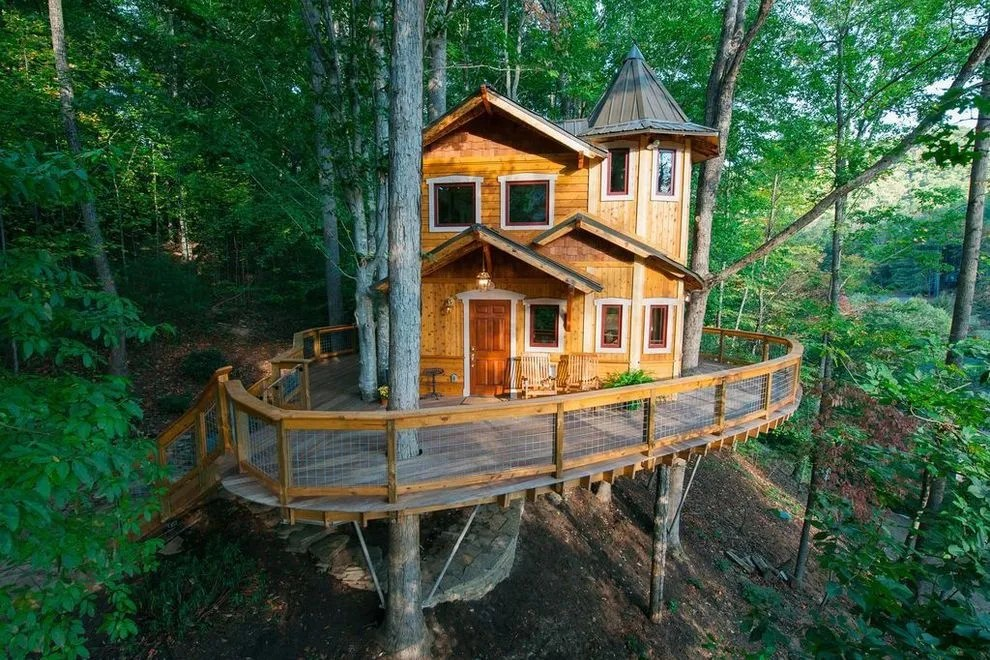 Treehouse Master Pete Nelson Building Rentals In Gatlinburg