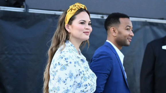 Chrissy Teigen said she ate placenta after the birth of her son to combat postpartum depression.