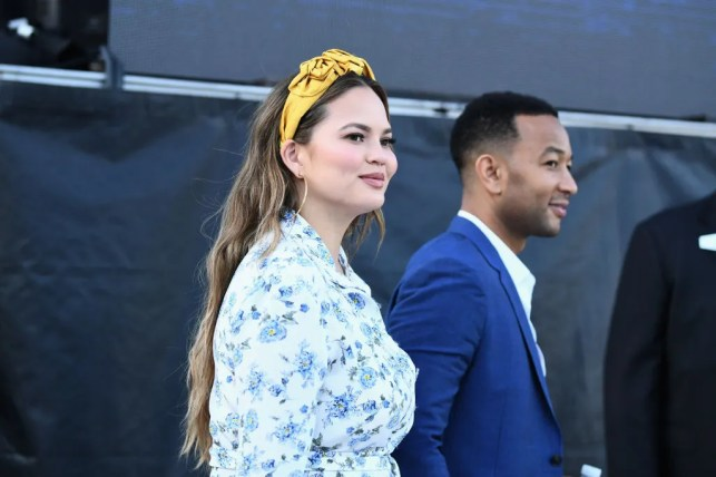 Why Chrissy Teigen ate her placenta after the birth of her son, Miles
