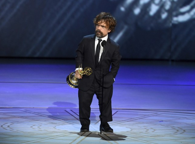 Emmys 2018: 'Game of Thrones' star Peter Dinklage wins supporting actor honor