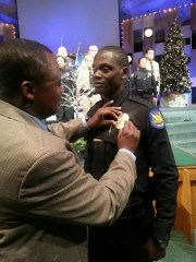 Germain Dosseh became a Phoenix police officer in 2015 after returning from a deployment in the U.S. Army.