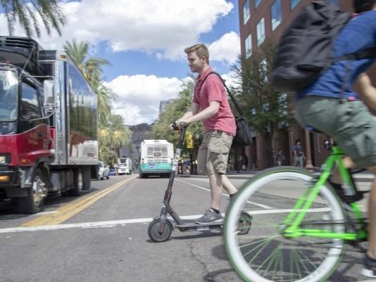 Tempe Regulations For Shareable Vehicles Such As Scooters