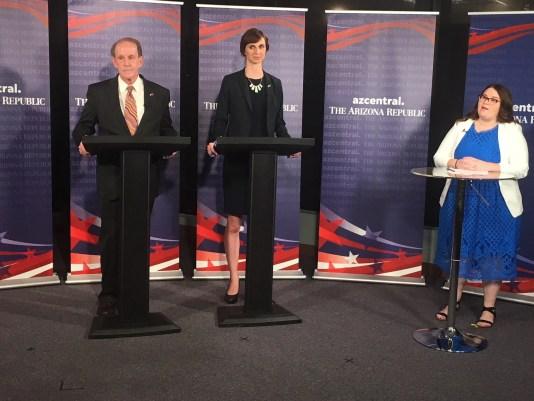 Arizona superintendent candidates