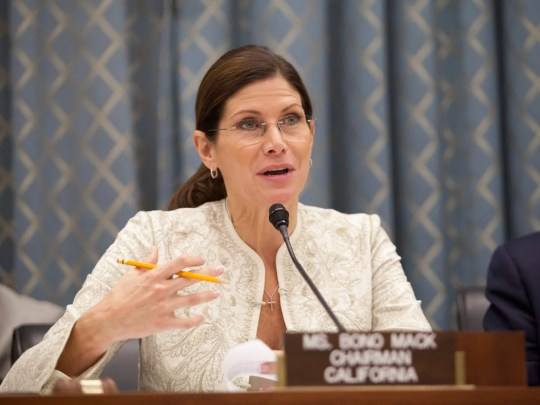 Former Congresswoman Mary Bono resigned on October 16, 2018 as interim CEO and President of USA Gymnastics.