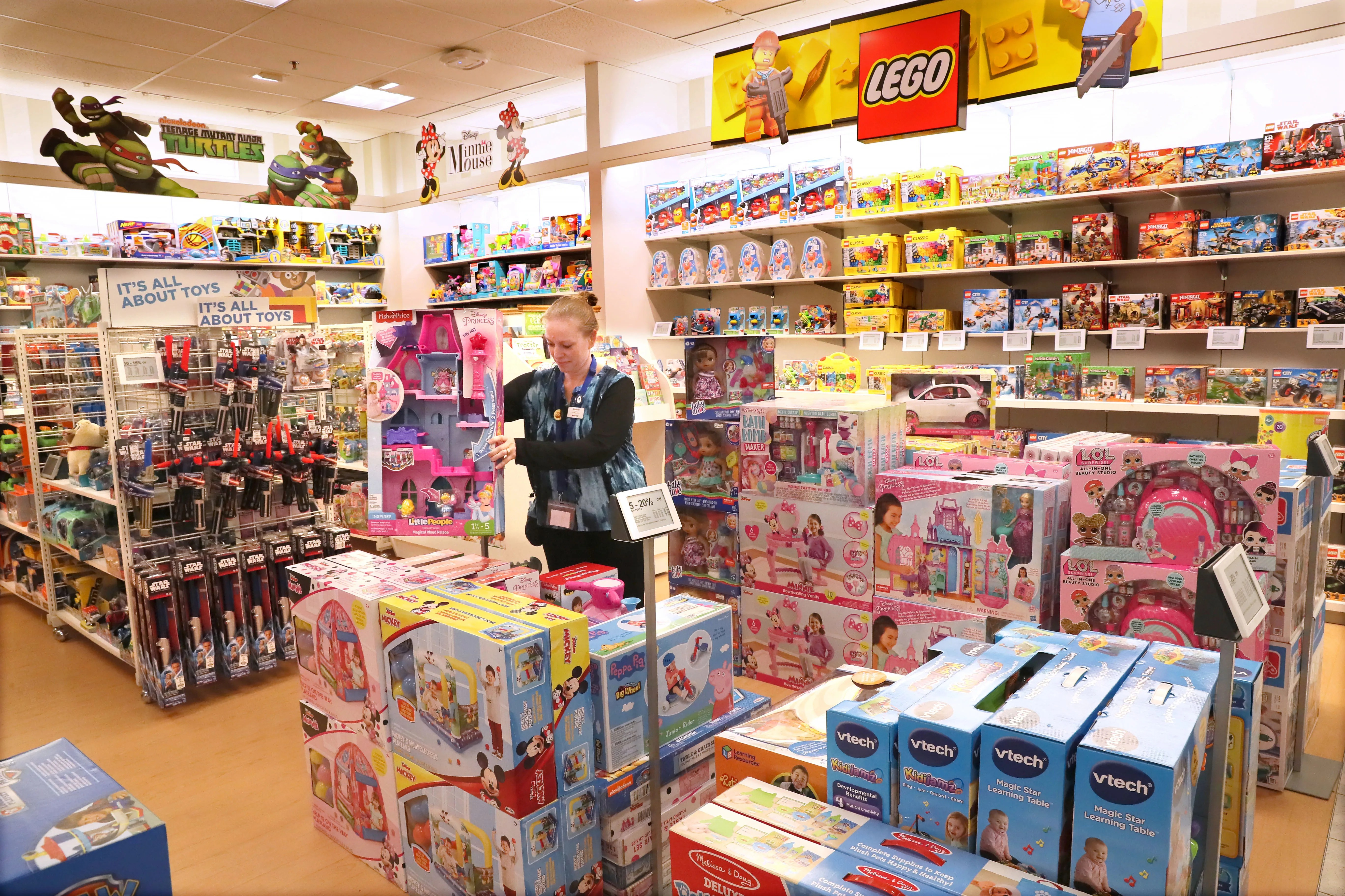 With Toys R Us Gone Billions Of Dollars In Sales Are Up