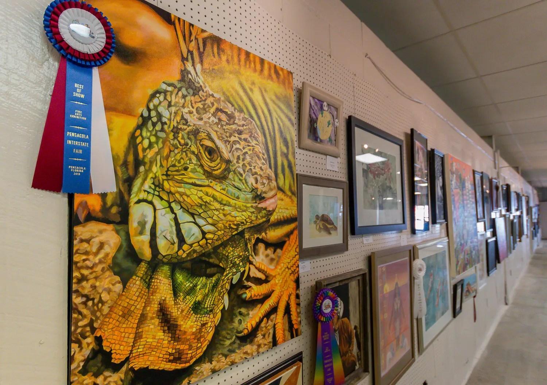Pensacola Interstate Fair Art Show Real Winner