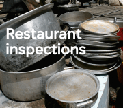 Find out about the food businesses run by Maricopa County health inspectors.