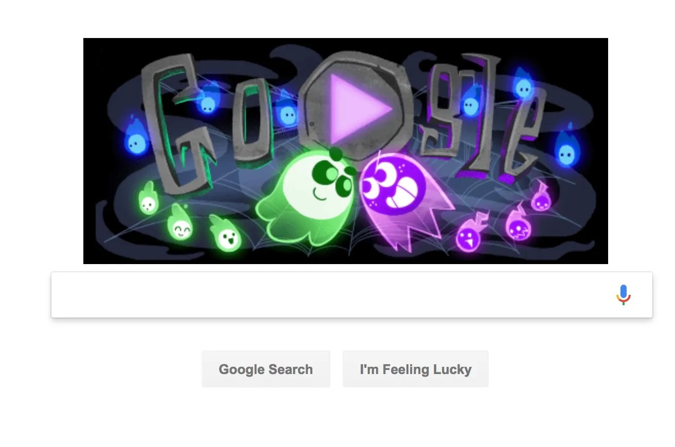 Google Halloween Game Doodle Launches Multiplayer Great