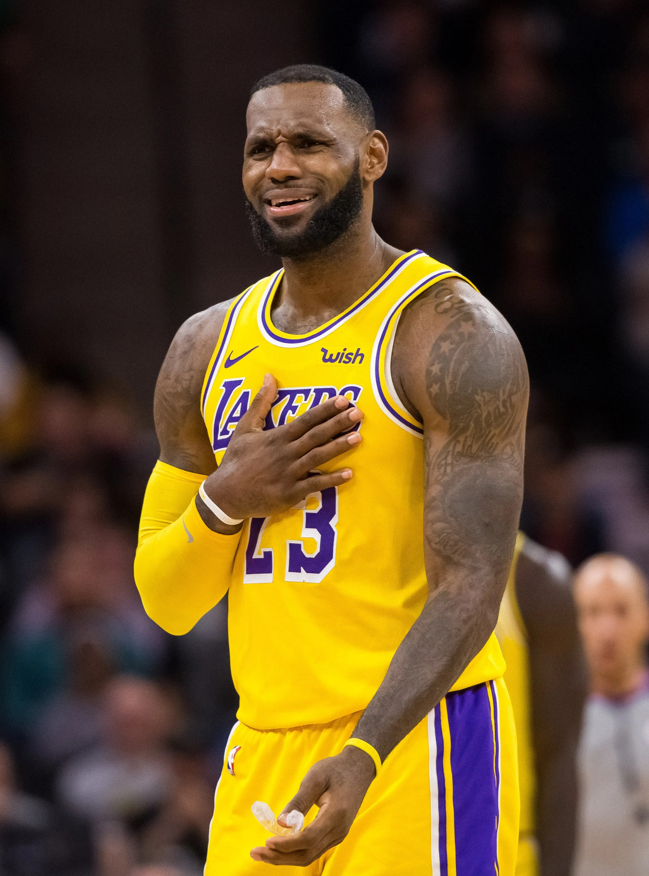 Lakers Lebron James Is Already Sick Of Losing Issues