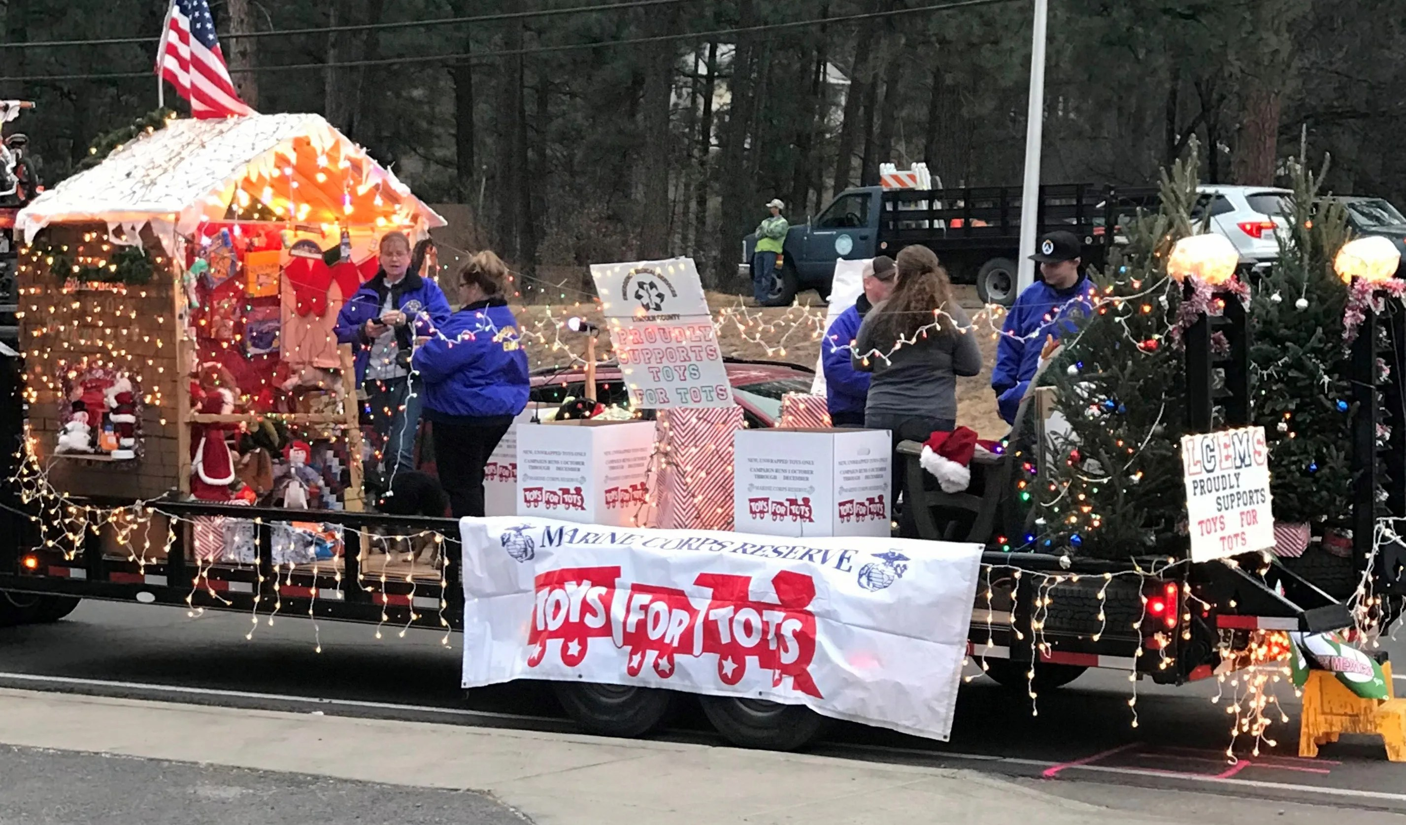 Inaugural Run For Lincoln County Mescalero Toys For Tots