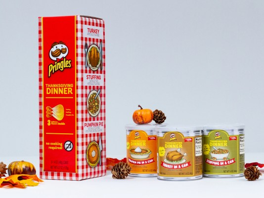 Pringles Thanksgiving
