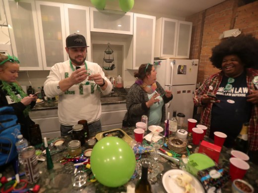 Supporters of Proposal 1 wait as results come in Tuesday, November 6, 2018 in Detroit, Mich. The proposal to legalize marijuana for adult recreational use was leading in early results.
