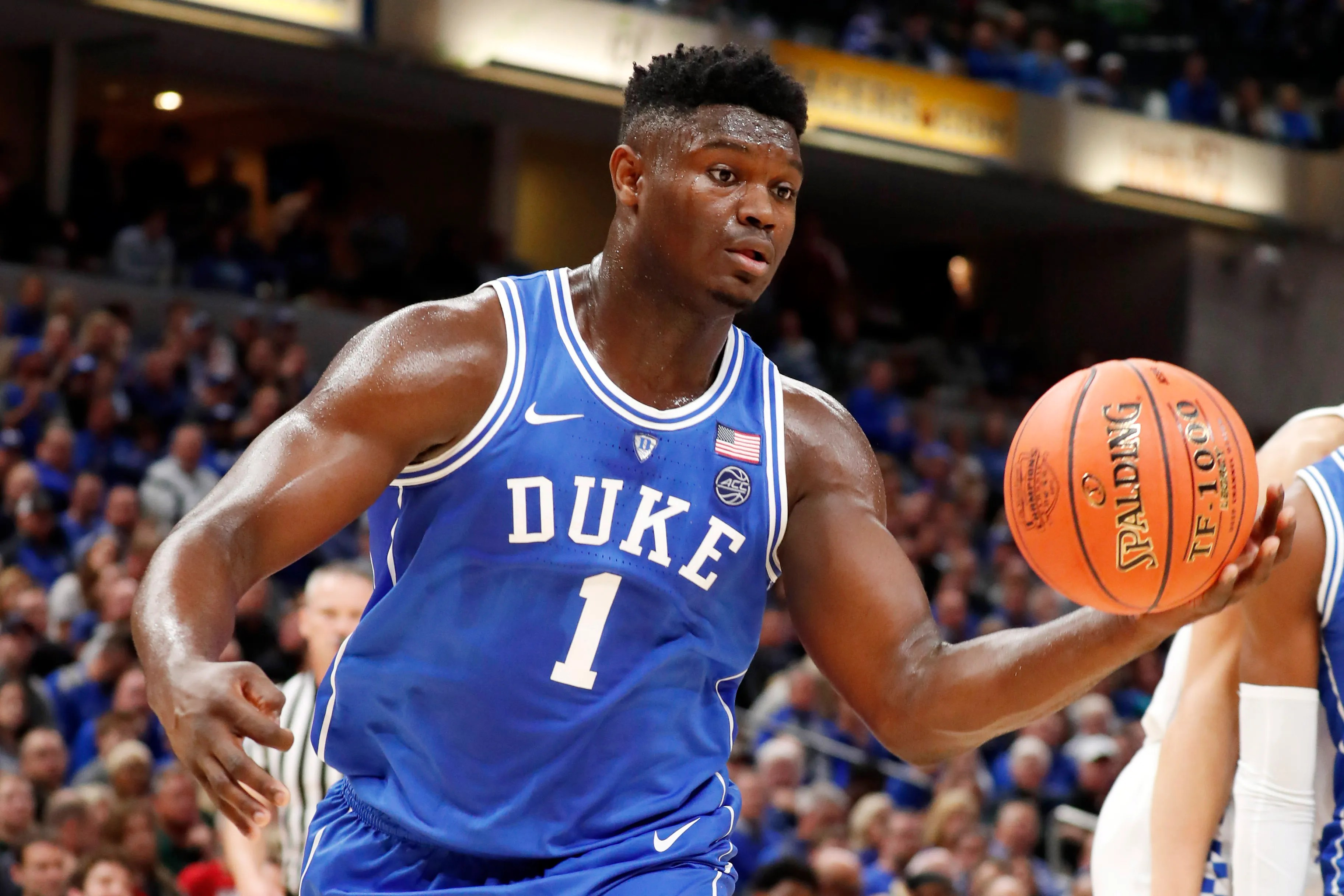 also duke   zion williamson produces highlight reel in blowout of kentucky rh indystar