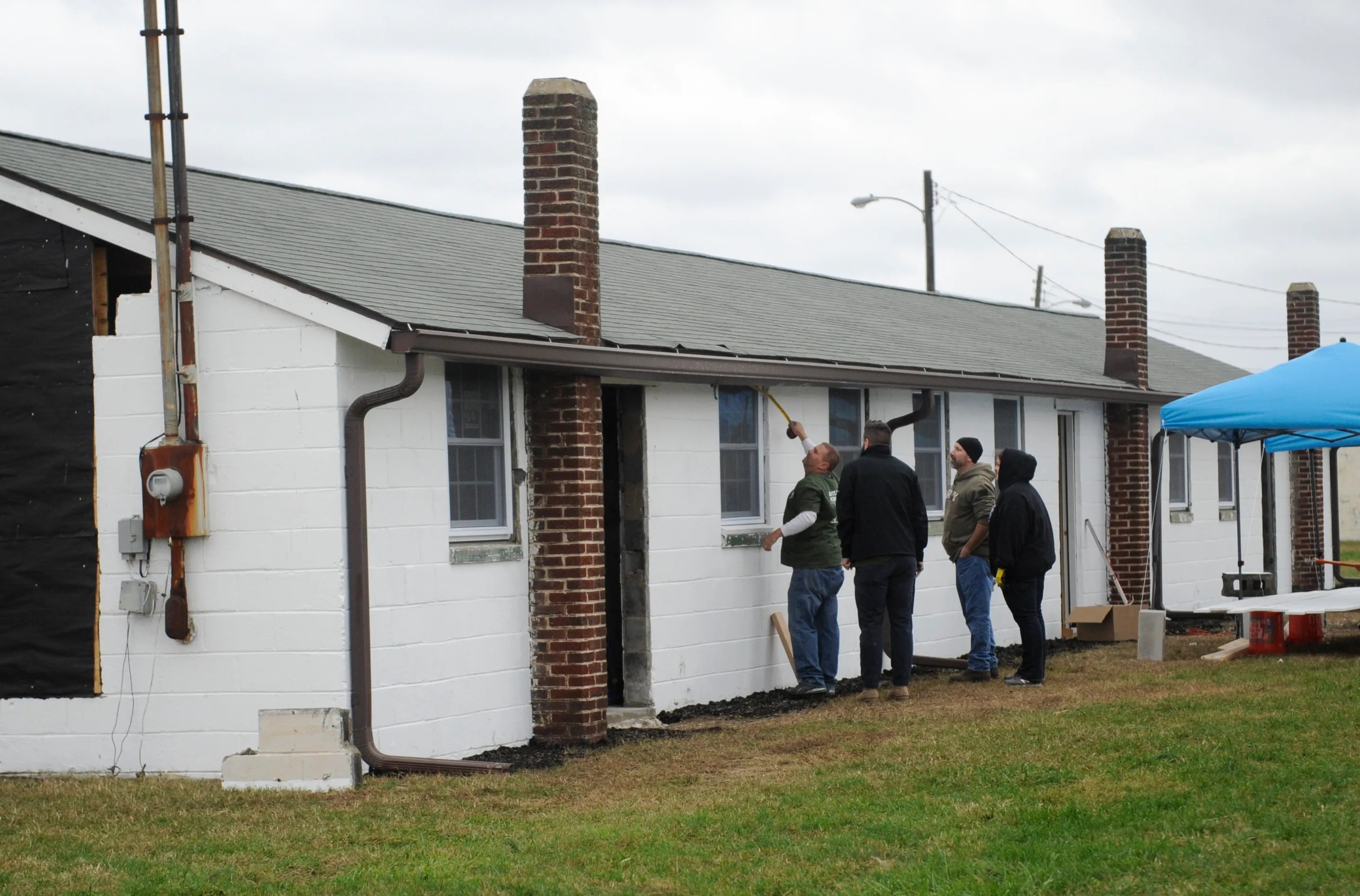 PHOTOS: Home Depot helps renovate Millville Army Airfield ...