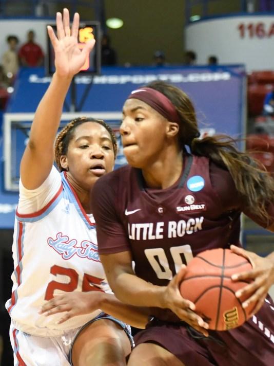 Lady Techster Basketball gegen Ualr
