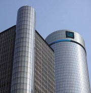 GM's white-collar workers have offered to buy out what GM calls its voluntary departure program until November 19 to make a decision. File: Exterior of the General Motors building in Detroit, June 30, 2018.