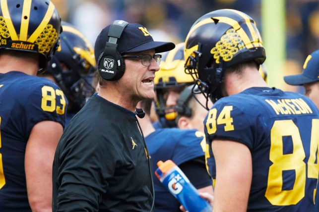 Jim Harbaugh back plan to have college football players leave for NFL draft at any point