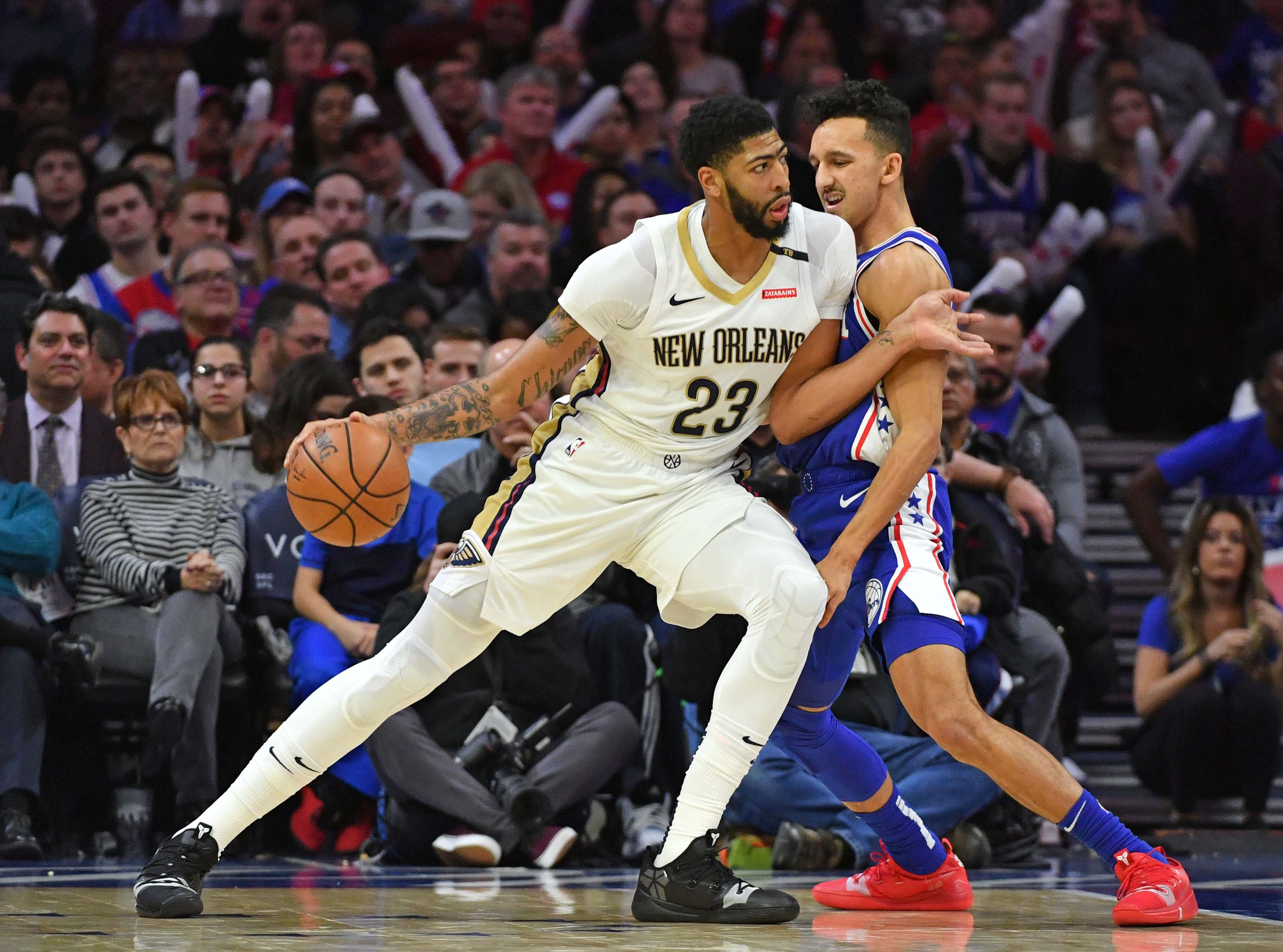 New Orleans Pelicans Anthony Davis drops rare 5x5 game