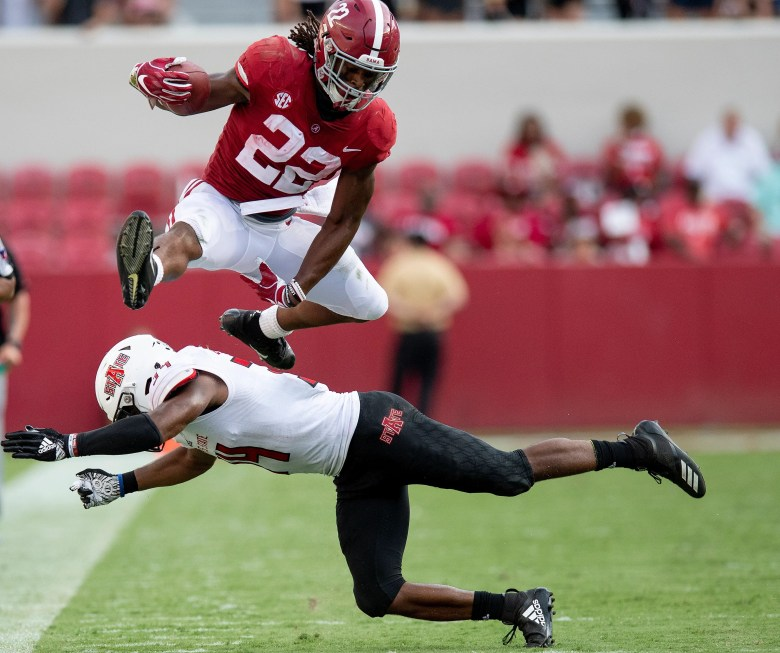 Najee Harris: 5 facts on the Alabama football running back