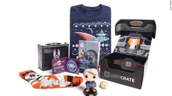 Loot Crate offers a variety of subscription boxes for gamers and pop culture fans.