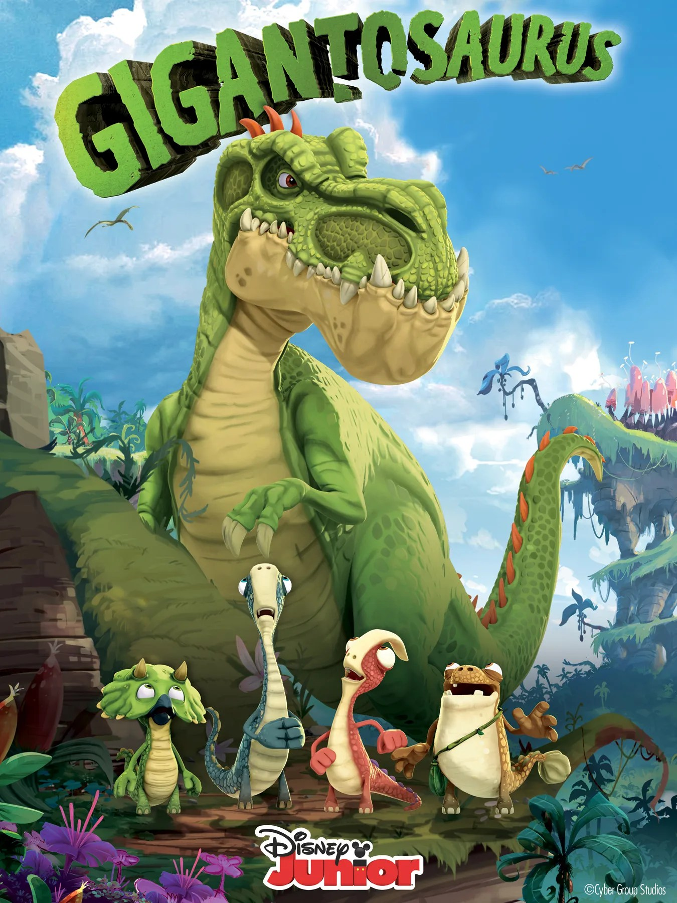Gigantosaurus Disney Channel S Newest Show Premieres Today