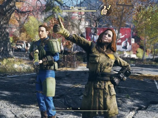 Bethesda is back with a new entrance in the popular 'Fallout' role-playing game franchise.