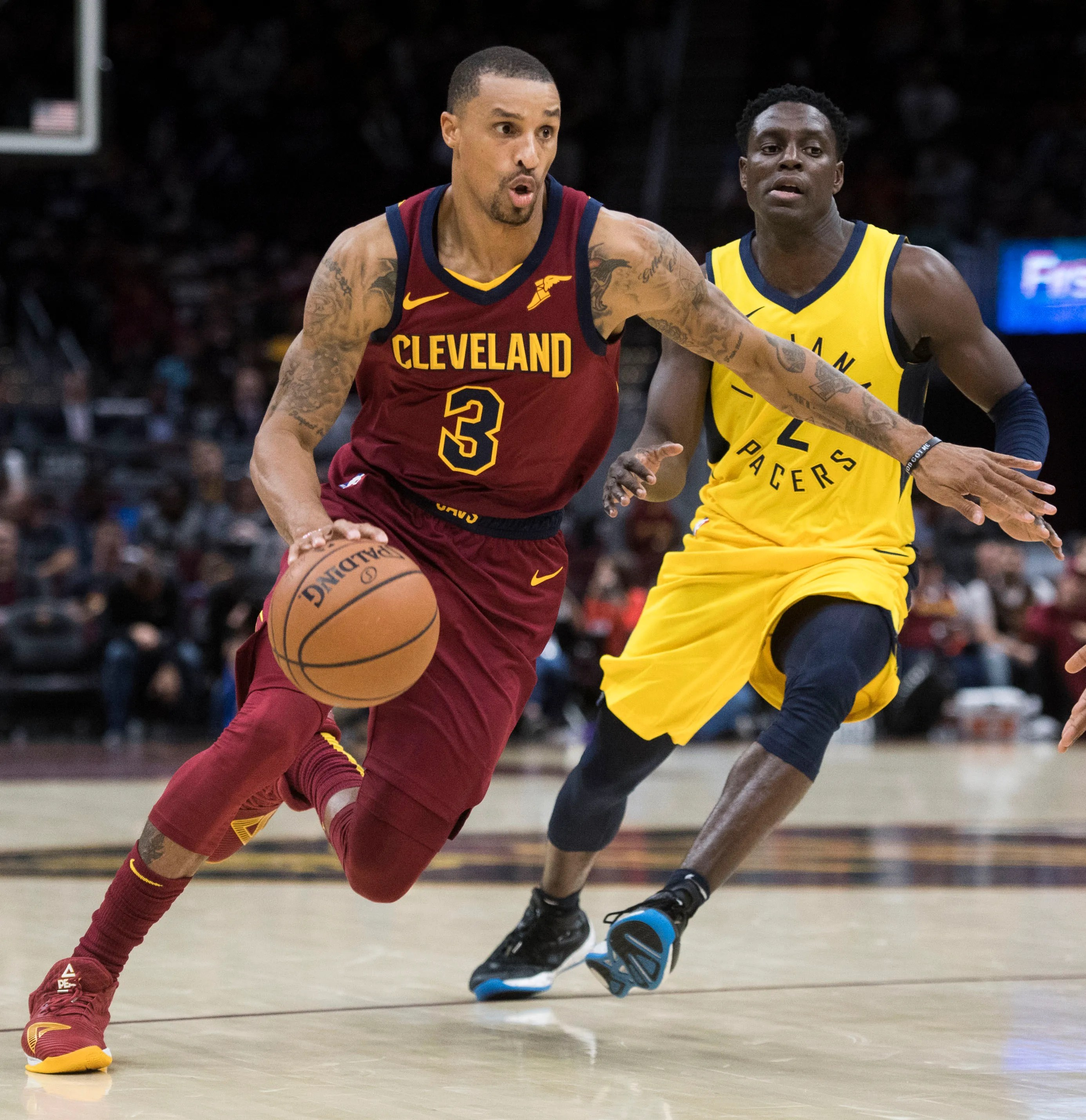 Bucks to acquire George Hill from Cavs for Matthew