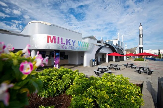 The Milky Way Ice Cream Shop at Kennedy Space Center Visitor Complex will be open to the public after undergoing renovations on Dec. 15, 2018.