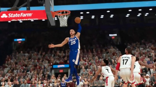 NBA 2K19 is the latest version of the popular sports video game franchise.