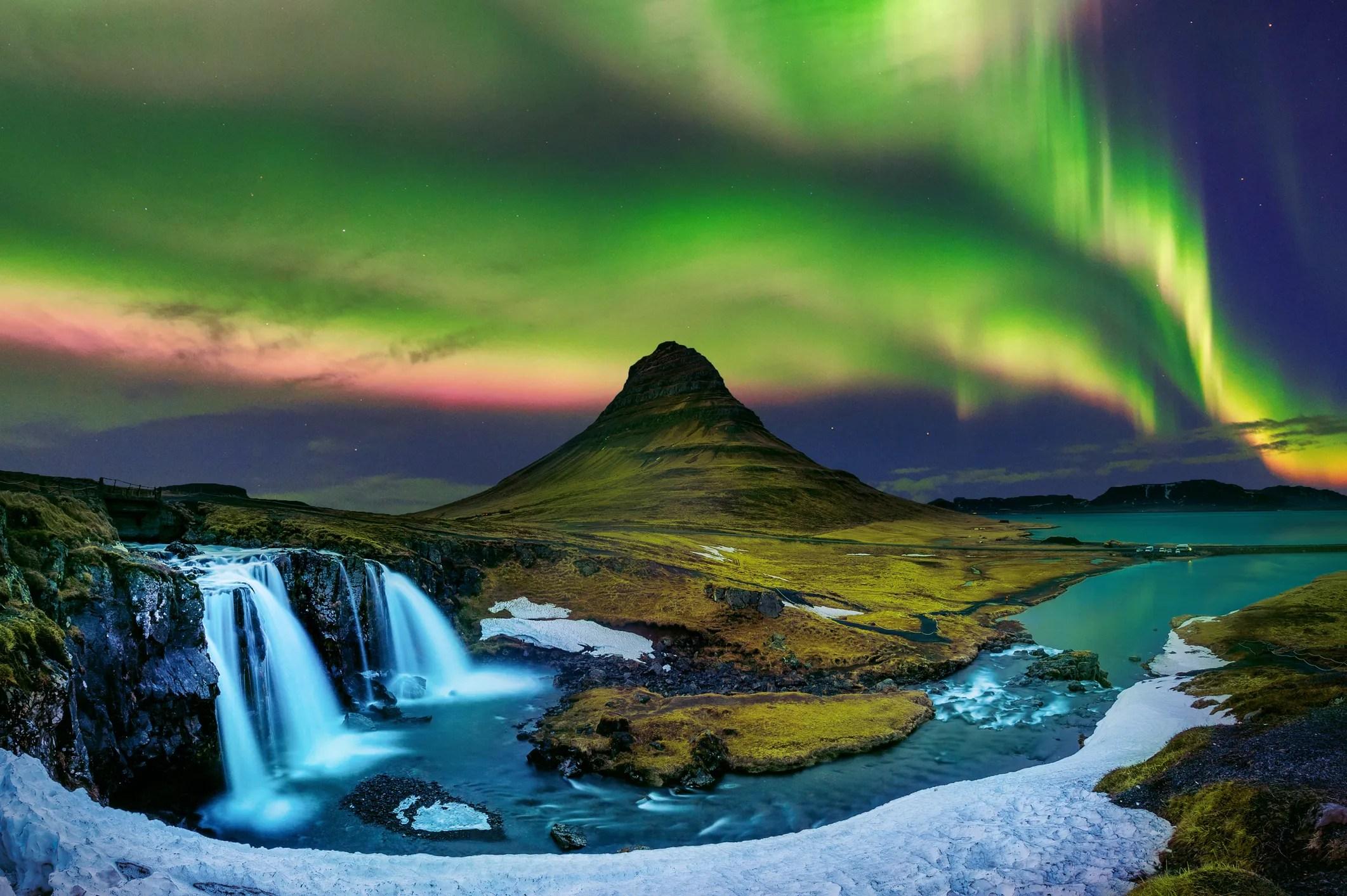northern lights solar storm