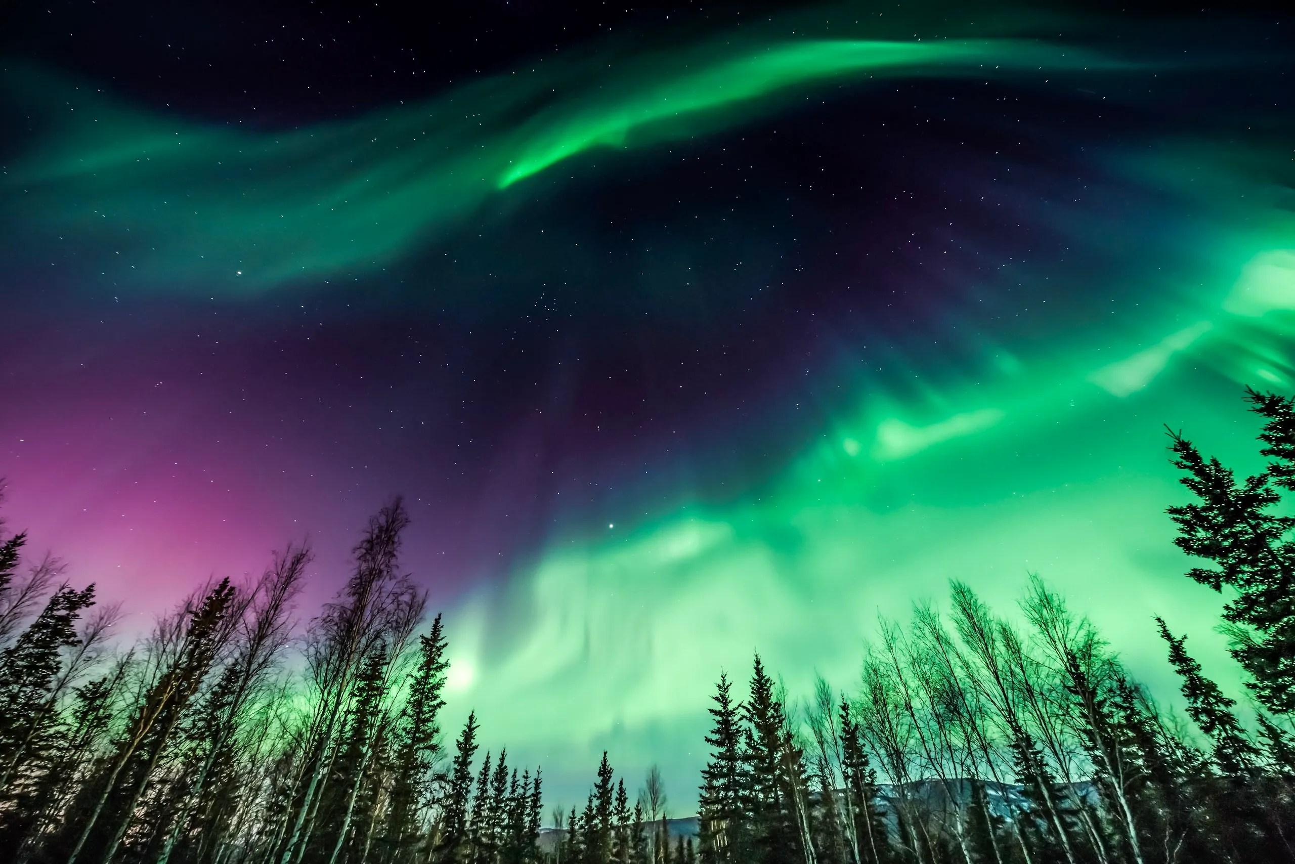 Northern Lights Places Aurora Borealis