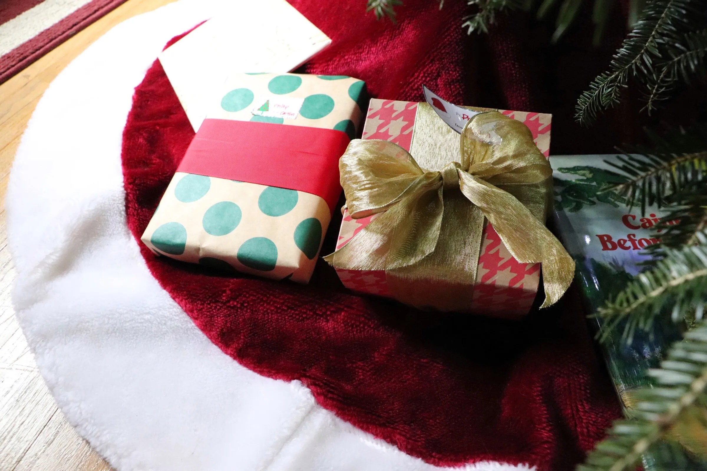 how to wrap those