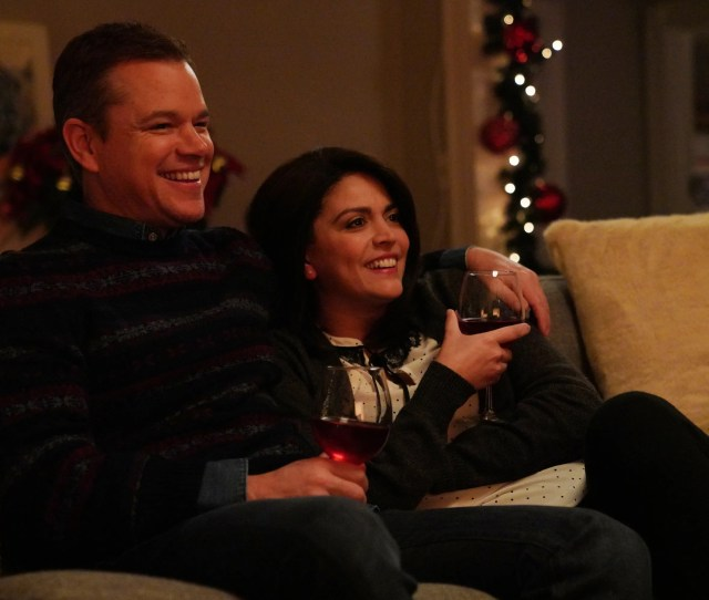 Host Matt Damon And Cecily Strong Played Parents Who Reflected On A Less Than