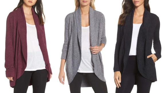 Best Valentine's Day Gifts 2019: Barefoot Dreams CozyChic Cardigan  10 Valentine's Day gifts women actually want 06b1f8e4 e550 4a80 b382 52a56985c755 nordstrom circle cardigan