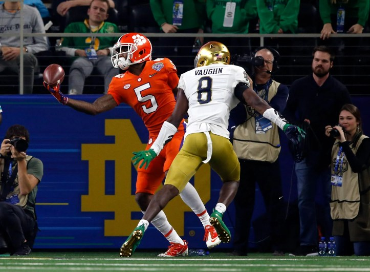 Ncaa Football College Football Playoff Semifinal Cotton Bowl Notre Dame Vs Clemson