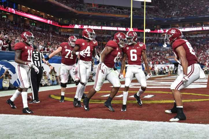 Ncaa Football College Football Playoff Semifinal Orange Bowl Alabama Vs Oklahoma