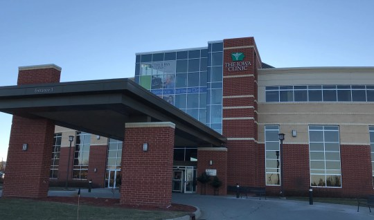 The Iowa Clinic's headquarters in West Des Moines.