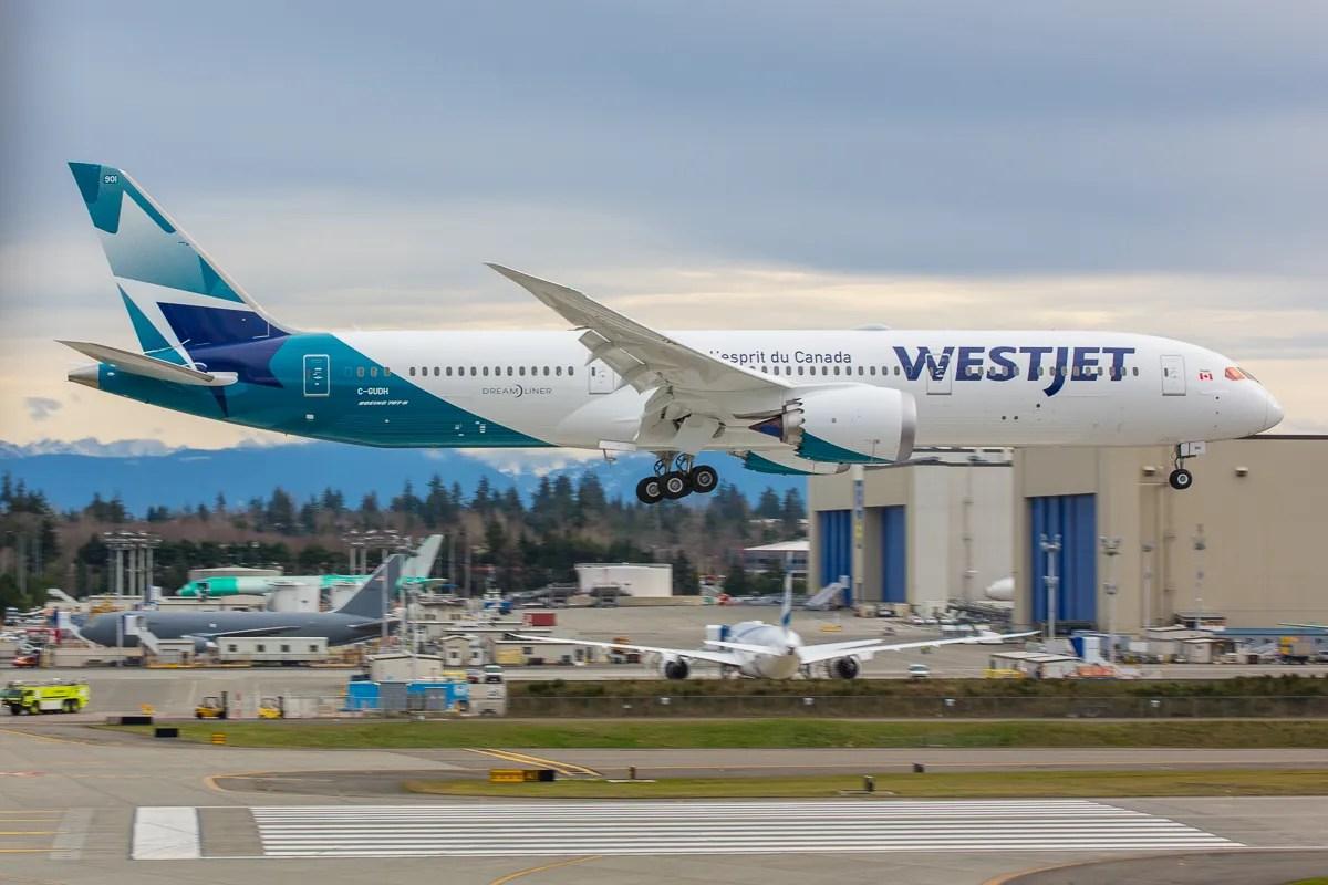 Best Westjet Airlines39 First Boeing 787 Dreamliner Takes