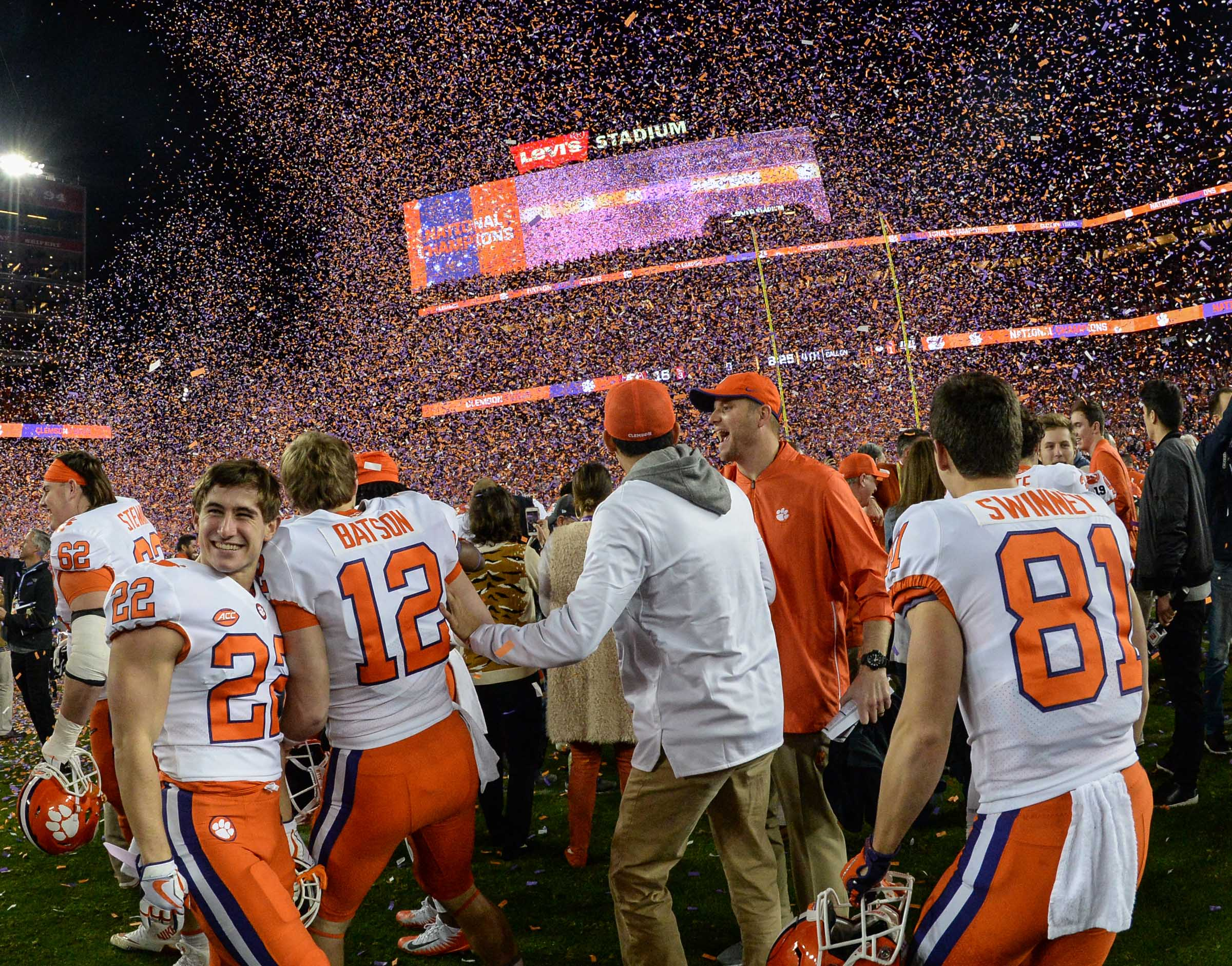 Clemson Football Team Traveled Far And Wide To Cap Perfect
